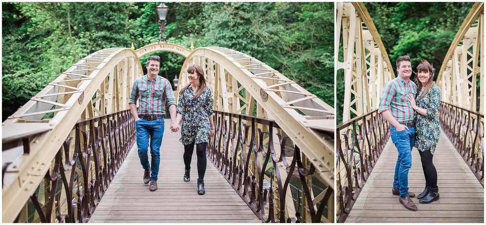 Matlock Bath Engagement Photoshoot