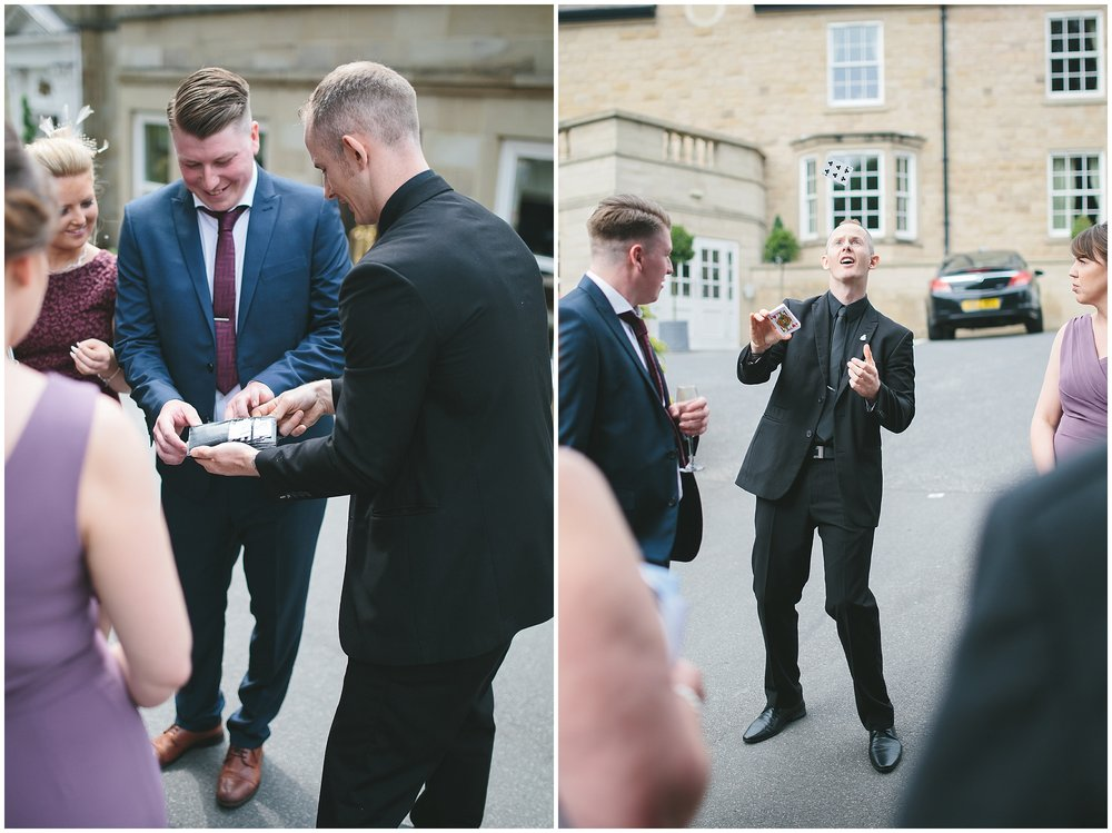 wentbridge wedding magician