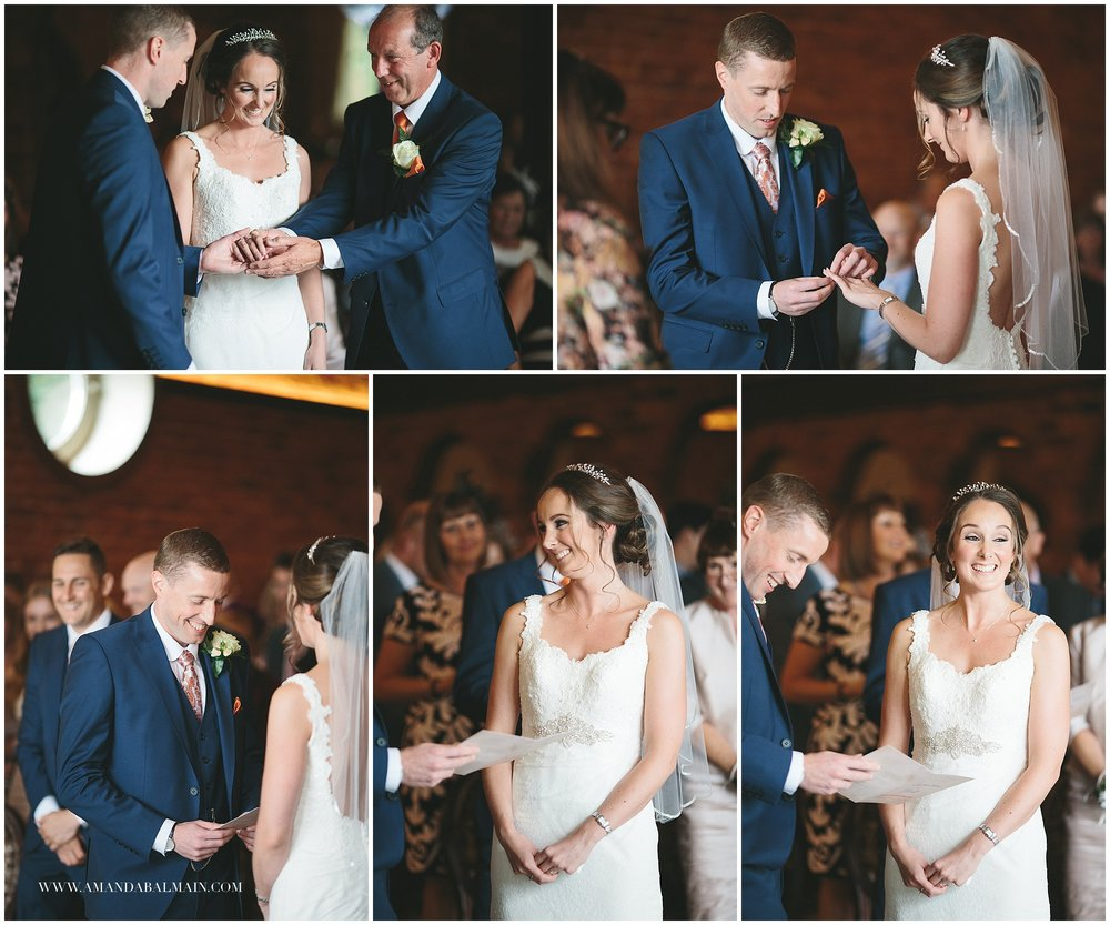 A super sweet ceremony with some wonderful singing!