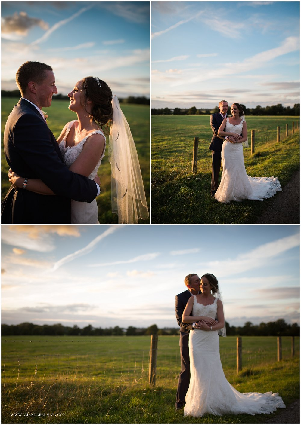 We walked a short way up the drive and across the road for a few private moments with the sunset. The sky was amazing at that time of day and I love these shots.