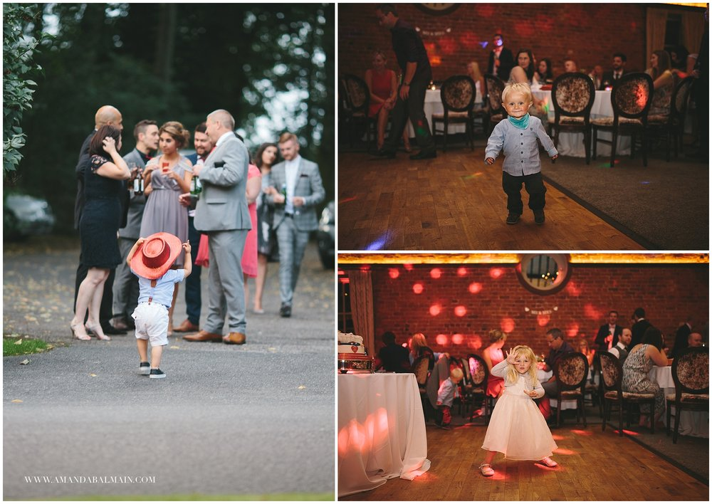 Never a dull moment with children at weddings. These little dudes were all brilliant.