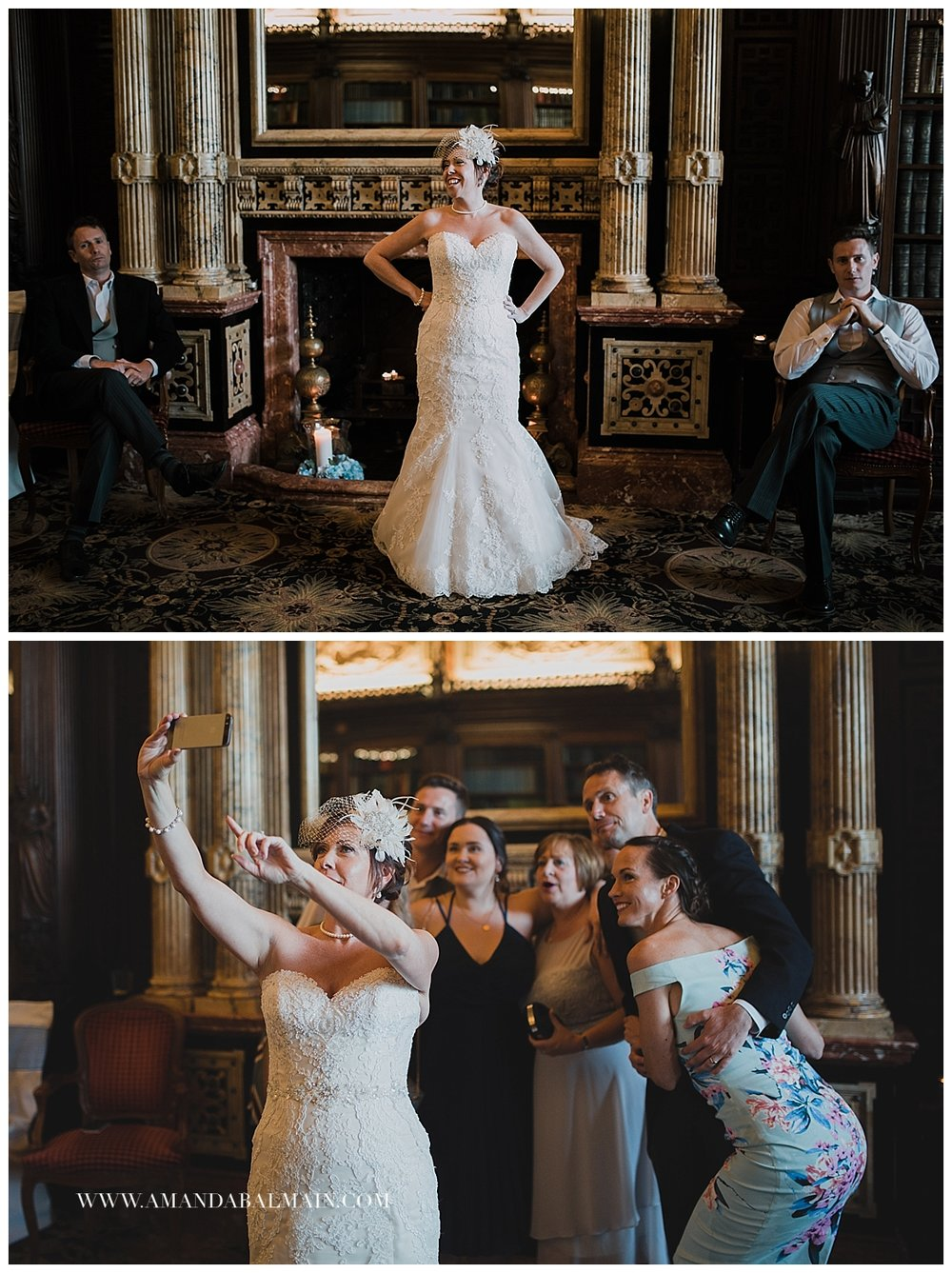 Crewe-Hall-Wedding-Great-Library