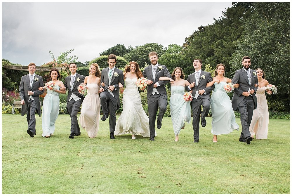 Bridal party photographs are more fun and relaxed. A few extra minutes in your timeline can get some really great images.