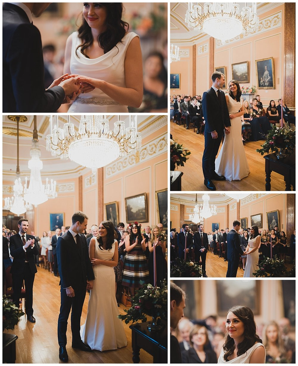 Liverpool Town Hall wedding.