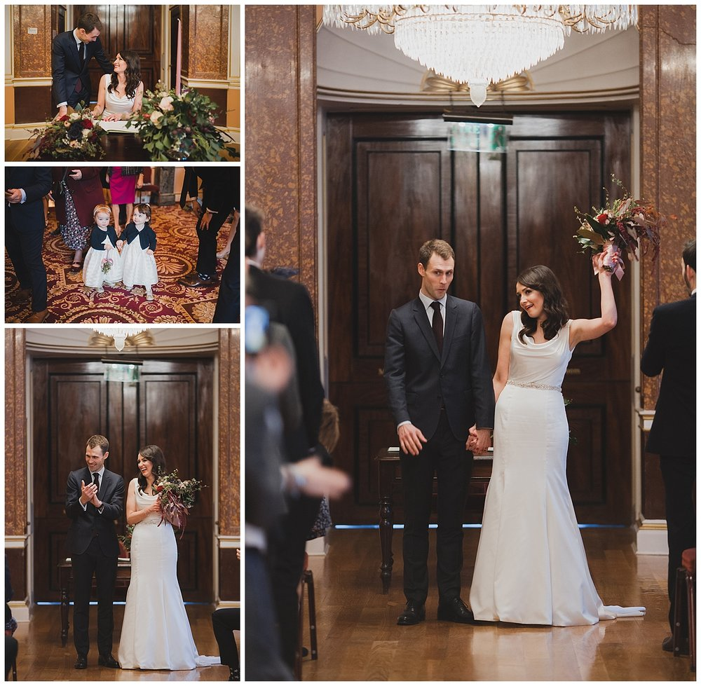 Liverpool Town Hall wedding ceremony