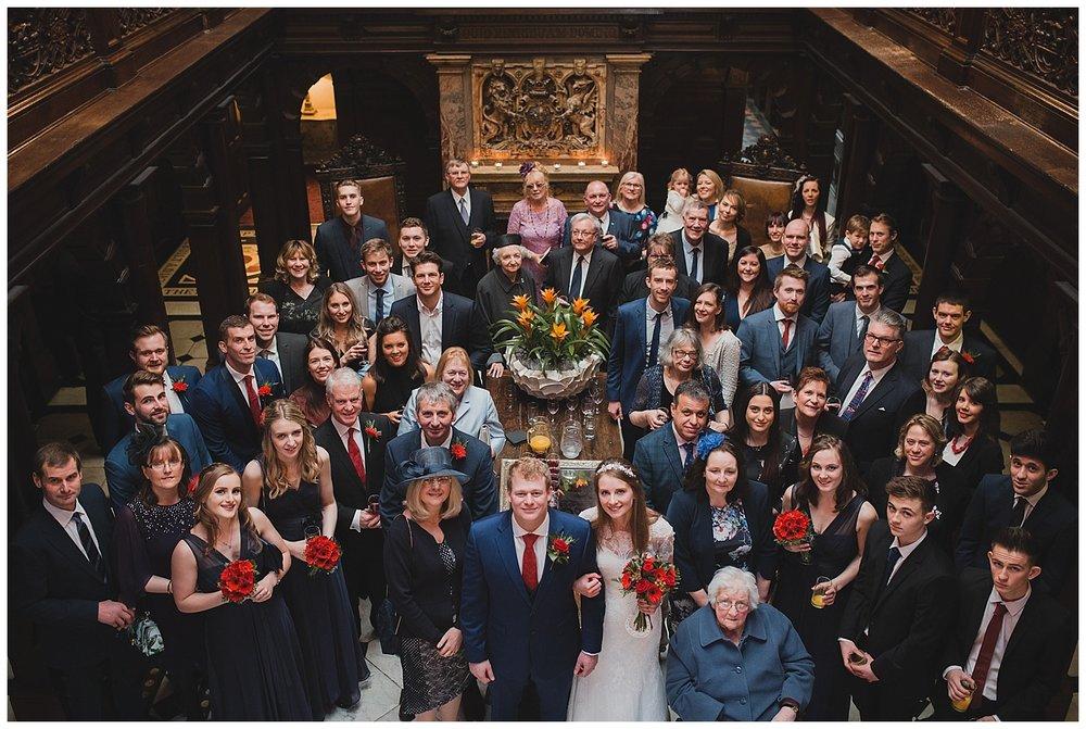 A Crewe Hall wedding.
