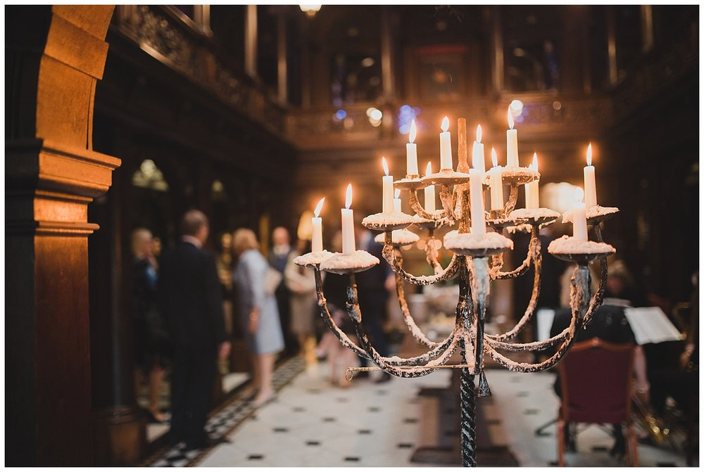 Candelabra at Crewe Hall