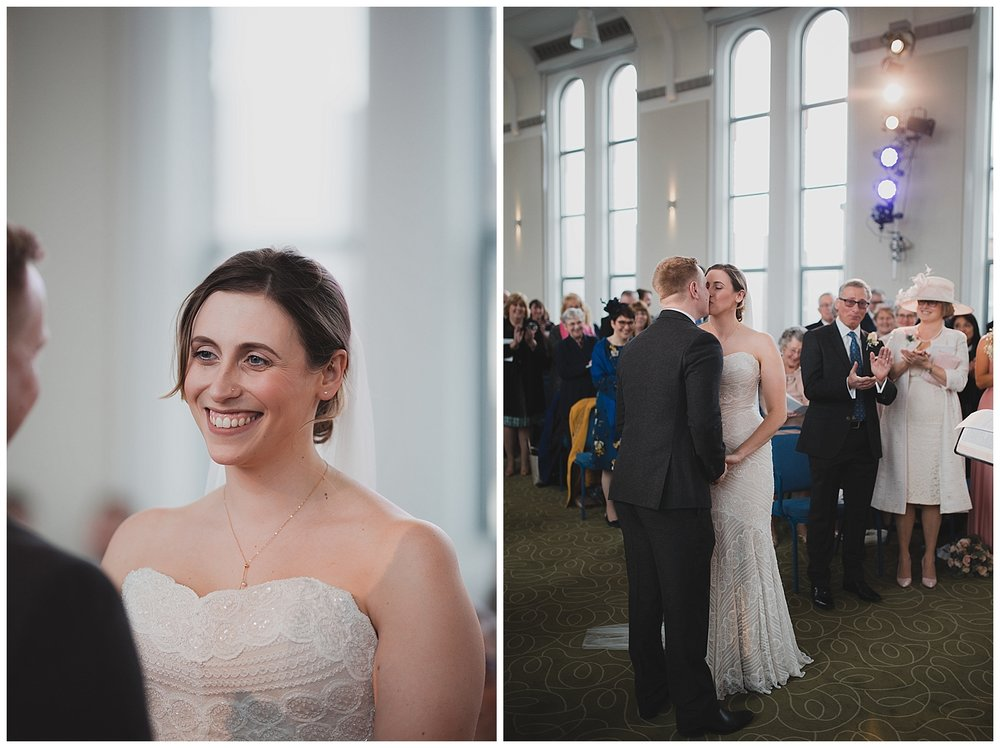 Altrincham church wedding