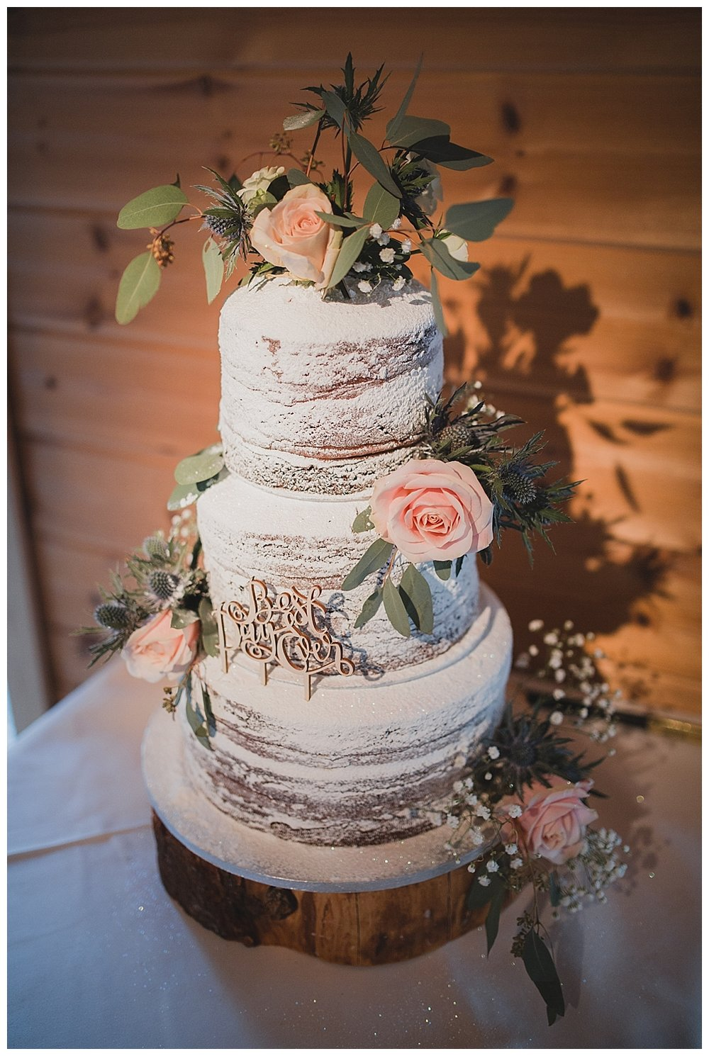 Wedding cake by Pink Pepper Catering