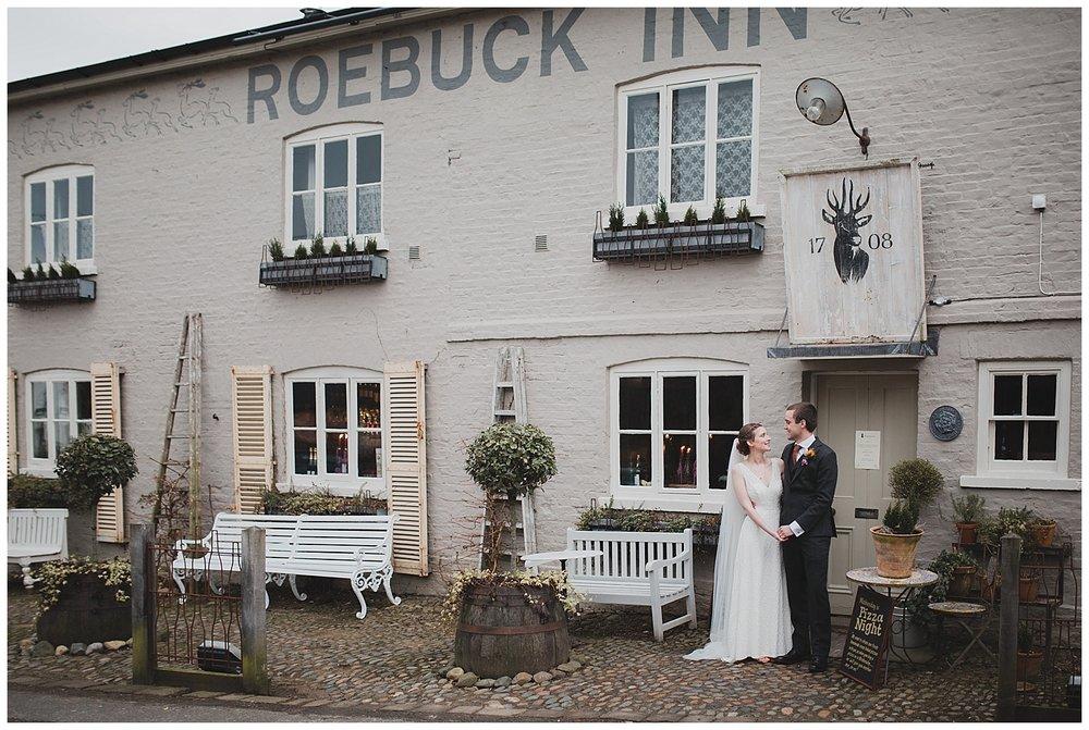 Wedding at The Roebuck Inn, Mobberley, Cheshire.