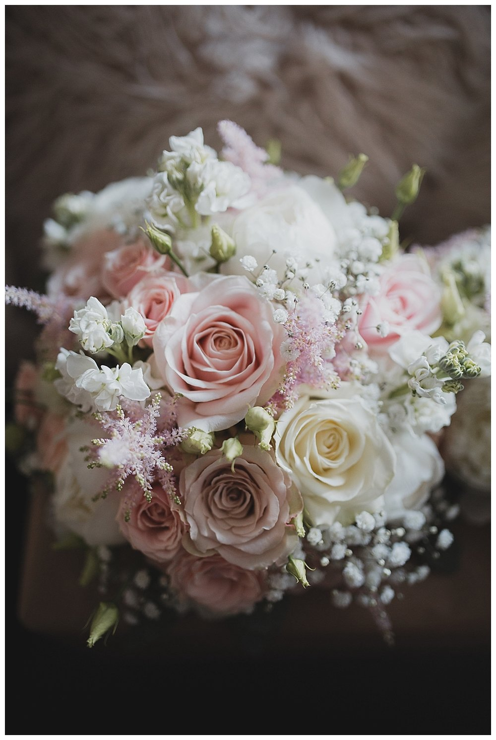 Flowers by Blossoms in Leek for this Stoke on Trent wedding.