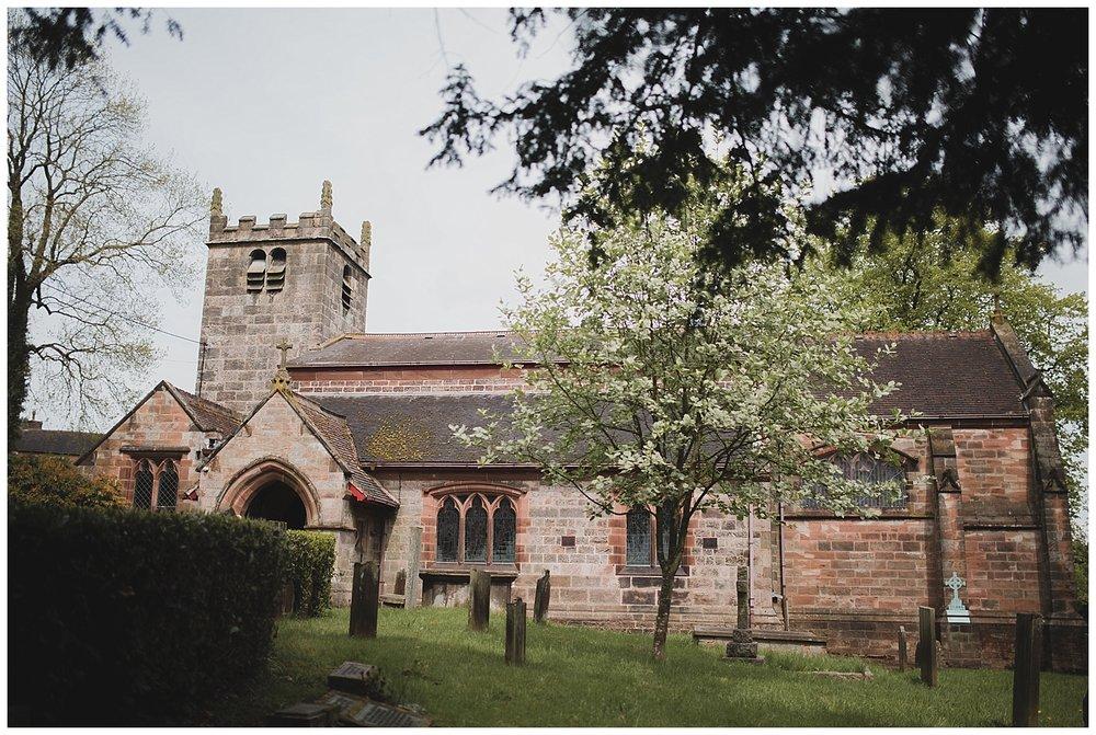 Wedding at St. Luke's Church, Endon