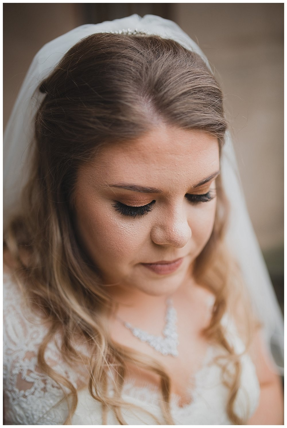 Beautiful make-up for this Staffordshire bride.