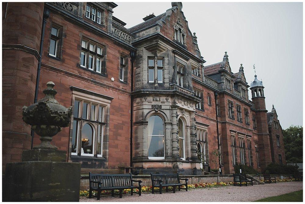 Keele Hall, Staffordshire.
