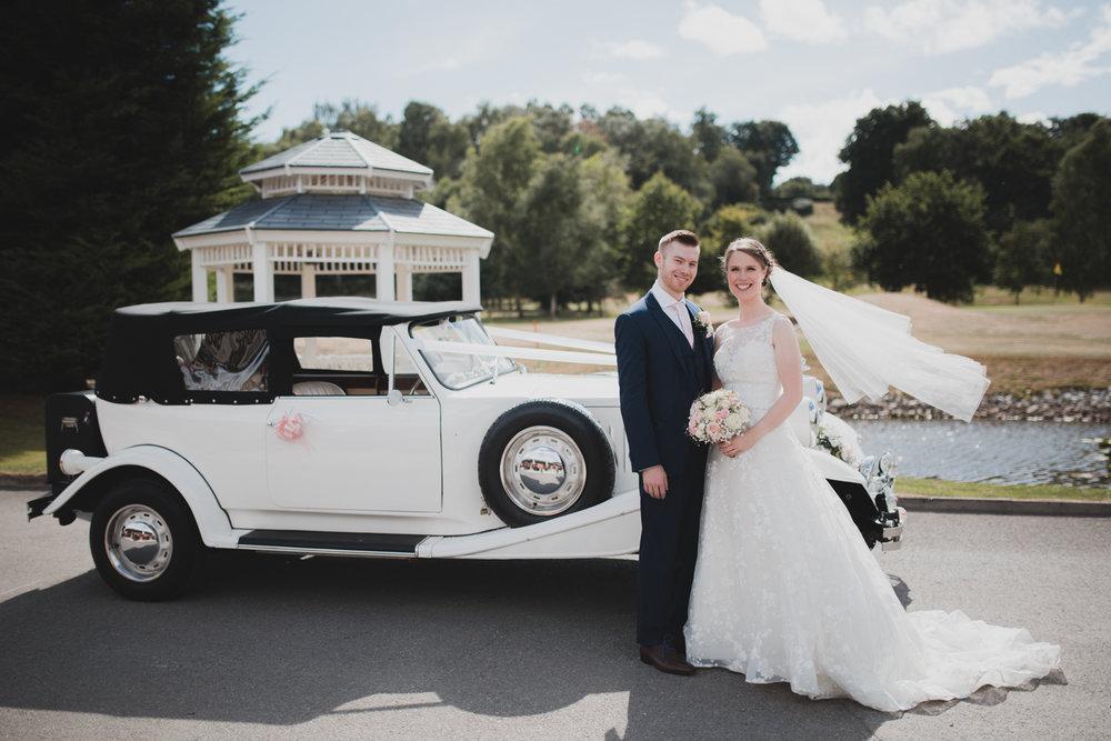 Wedding photography at Hartford Golf Club