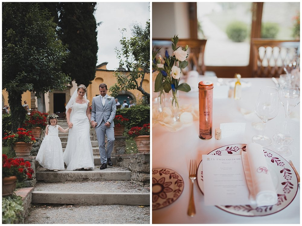 Wedding at Il Falconiere, Cortona, Tuscany
