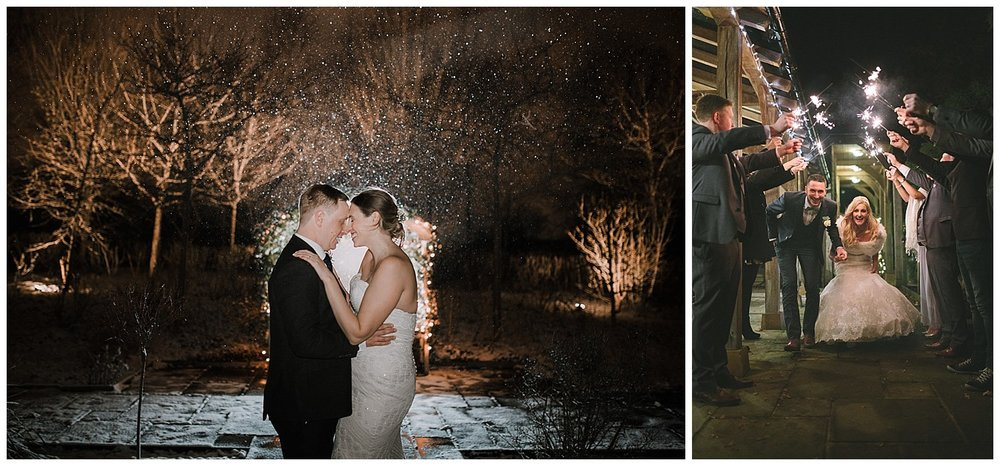 Low light photography is perfect for winter weddings and taking advantage of those dark evenings.