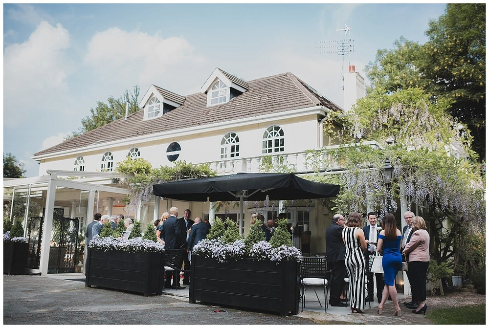Yellow Broom restaurant looking fantastic with the wisteria in flower.