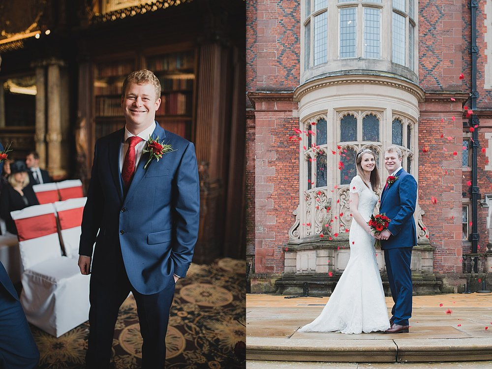 Crewe Hall wedding photographer