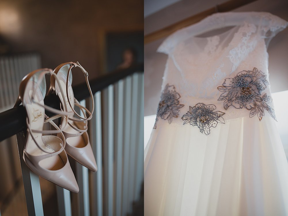 laboutin bride