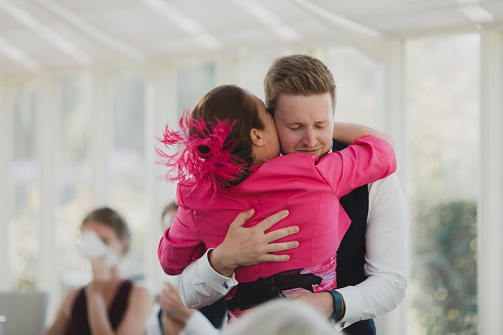 Weddings are an emotional day for parents