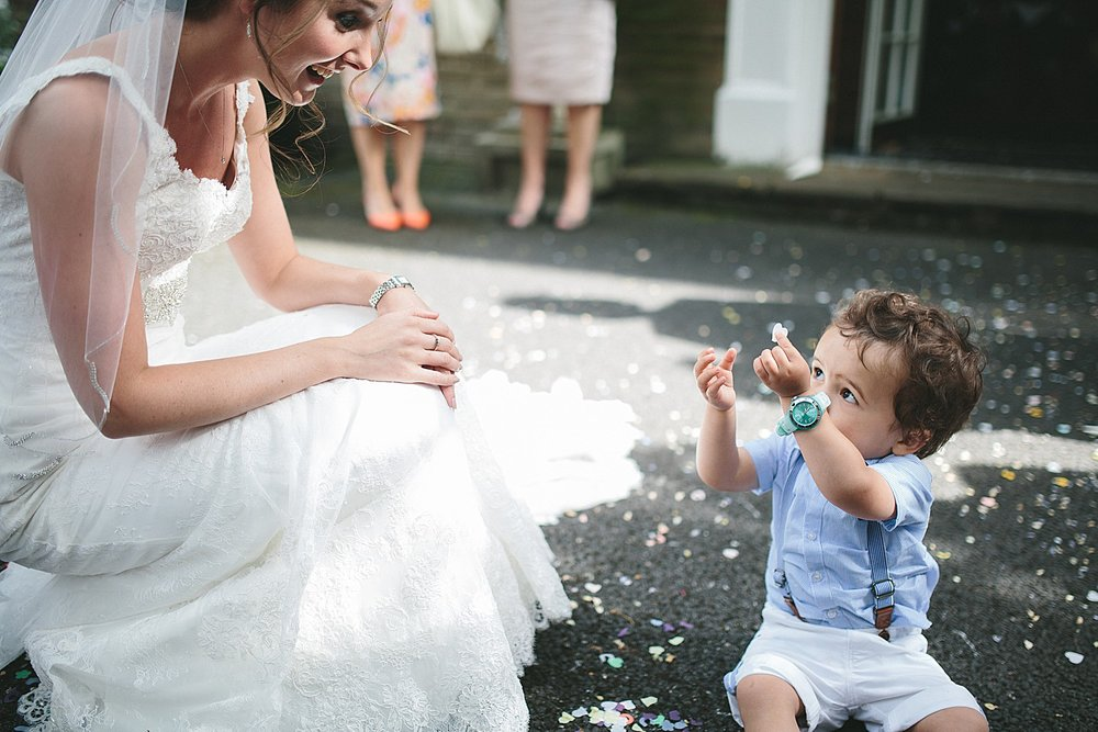 Keeping young guests happy at your wedding