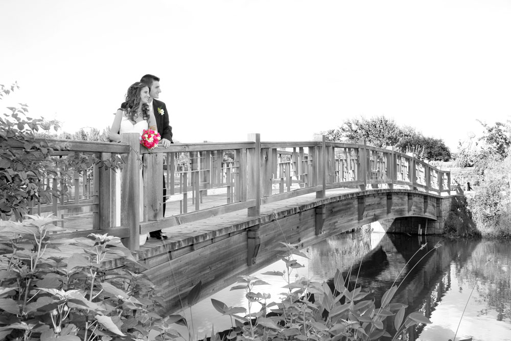 Powell Gardens Wedding Bridge
