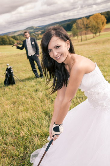 Wedding Golf!
