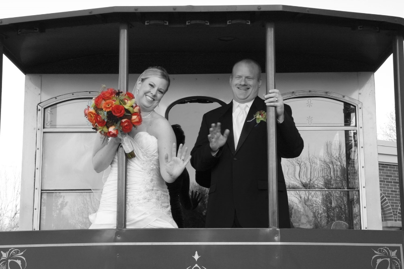 Train Wedding