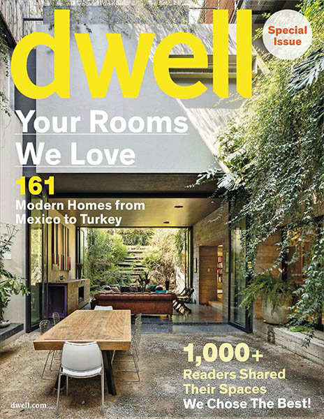 Dwell Special Issue Magazine | March 2015   Yale Street Residence  (Unger Residence)