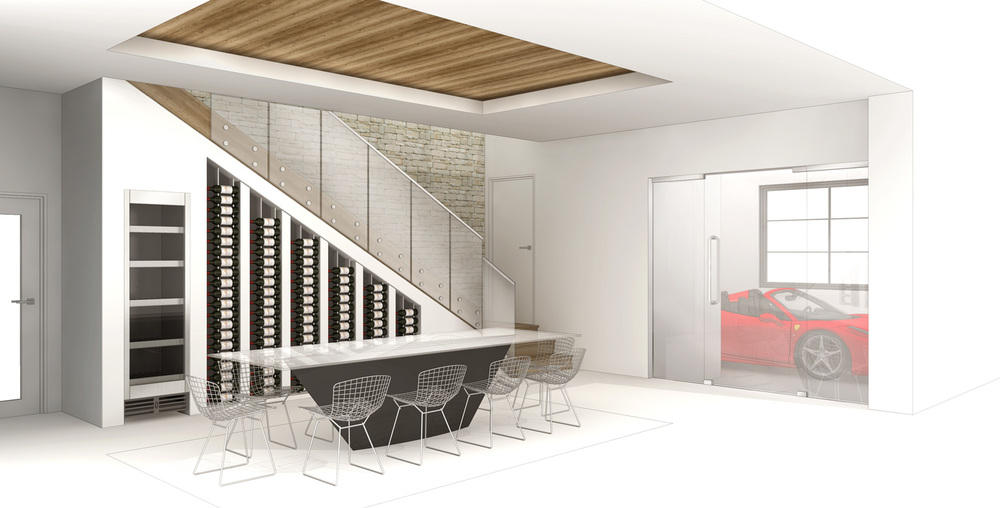 Mckean Circle Interior Dining Concept