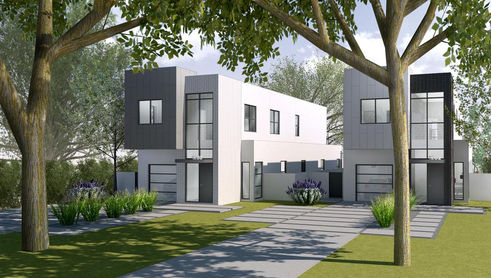 Arlington Place Front Exterior Concept