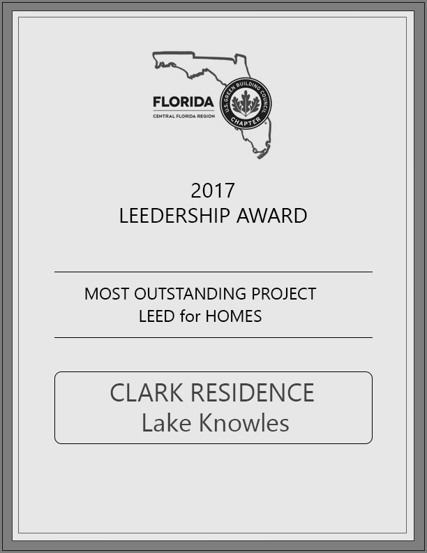 US Green Building Council | January 2017  Clark Residence