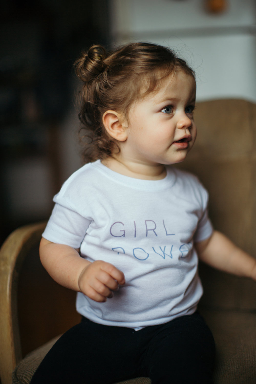 My Little Feminist, Emerson Rose    Girl Power Tee