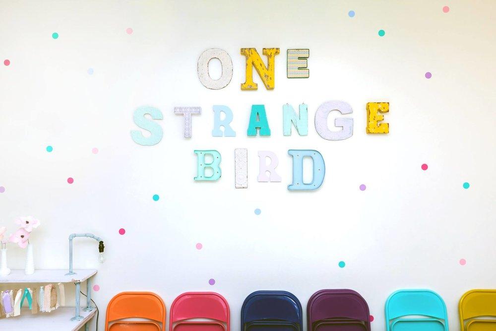 ONE STRANGE BIRD