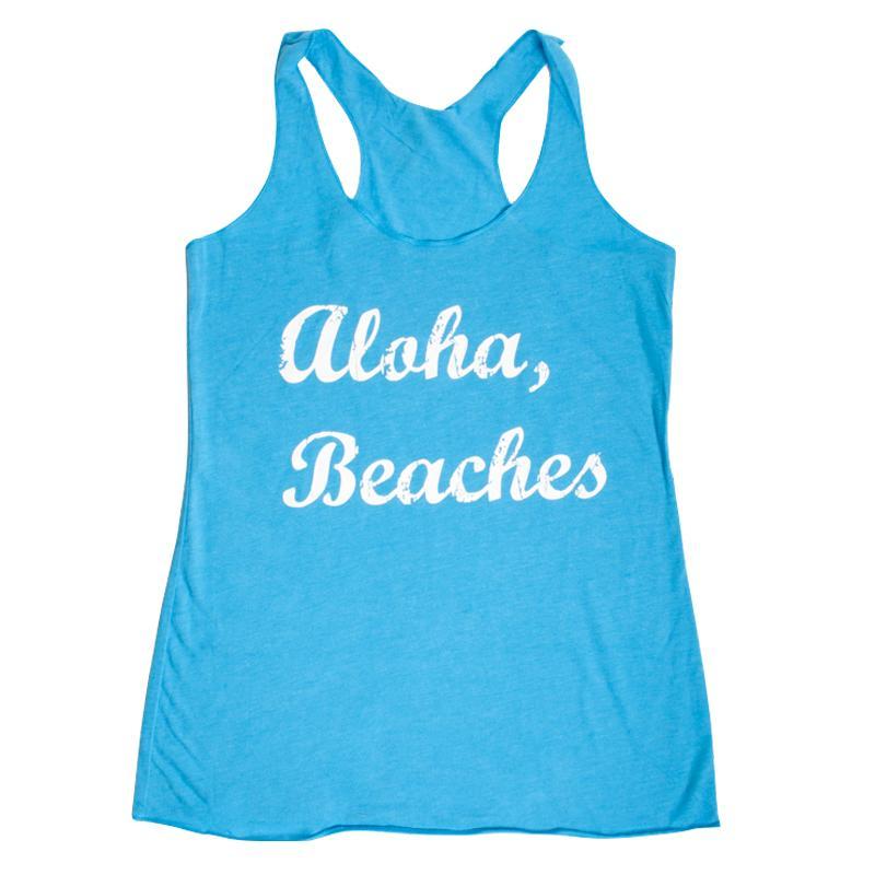 0272bef1f3 Aloha Beaches Tank Top — One Strange Bird
