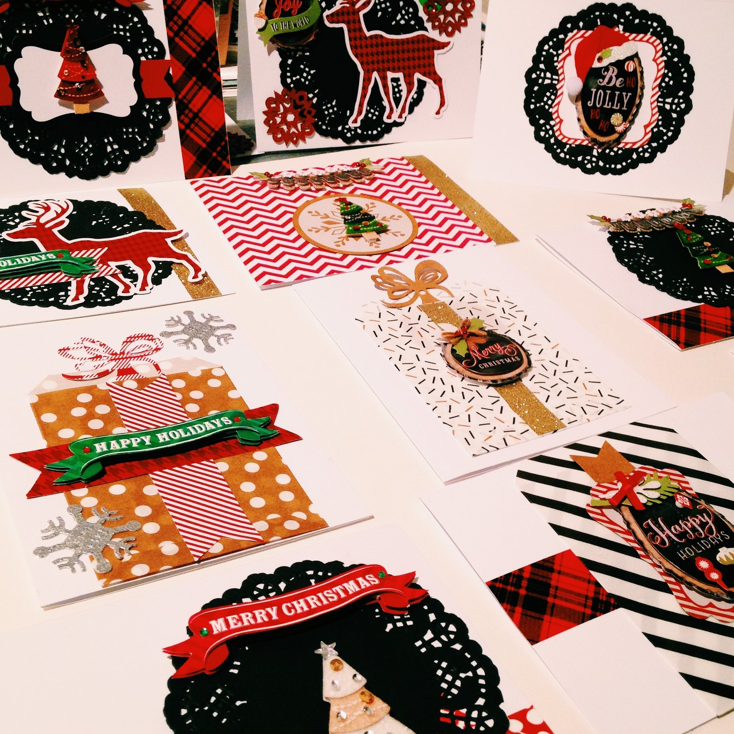 Holiday Card Making Workshop
