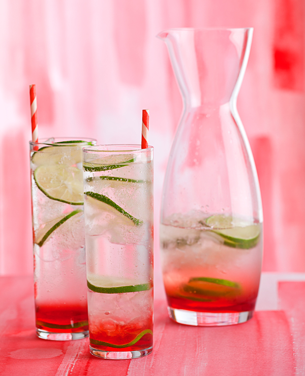 Refreshing after a long day of holiday shopping….      Cherry Gin and Tonic Recipe
