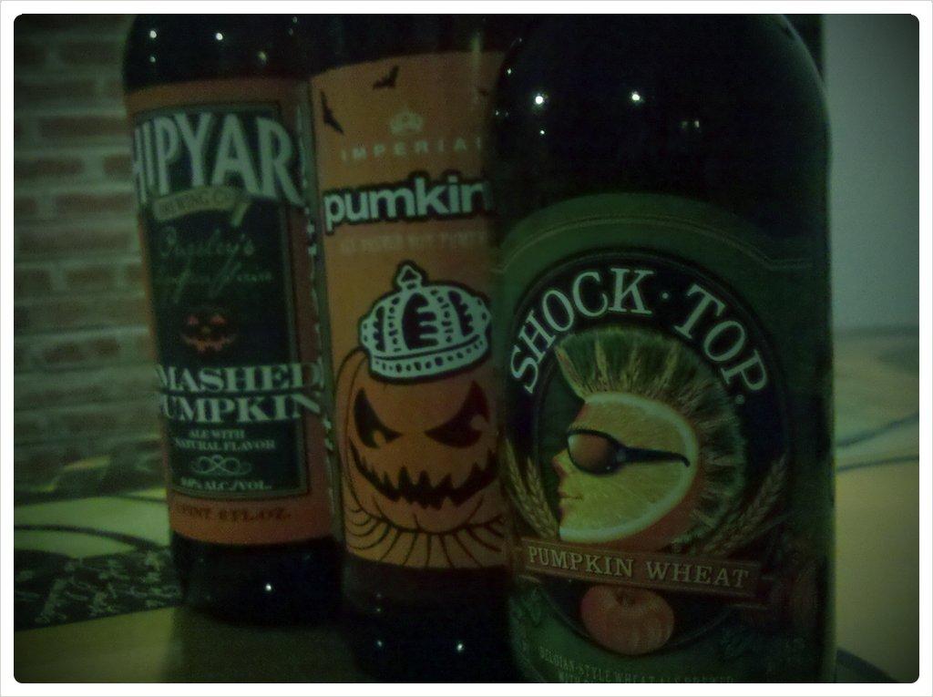 Pumpkin beer! (Taken with  picplz .)
