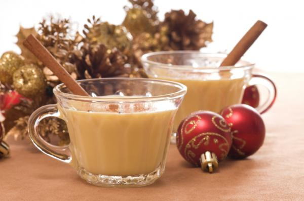 Somewhere else to put your cinnamon stick      White Christmas Nog