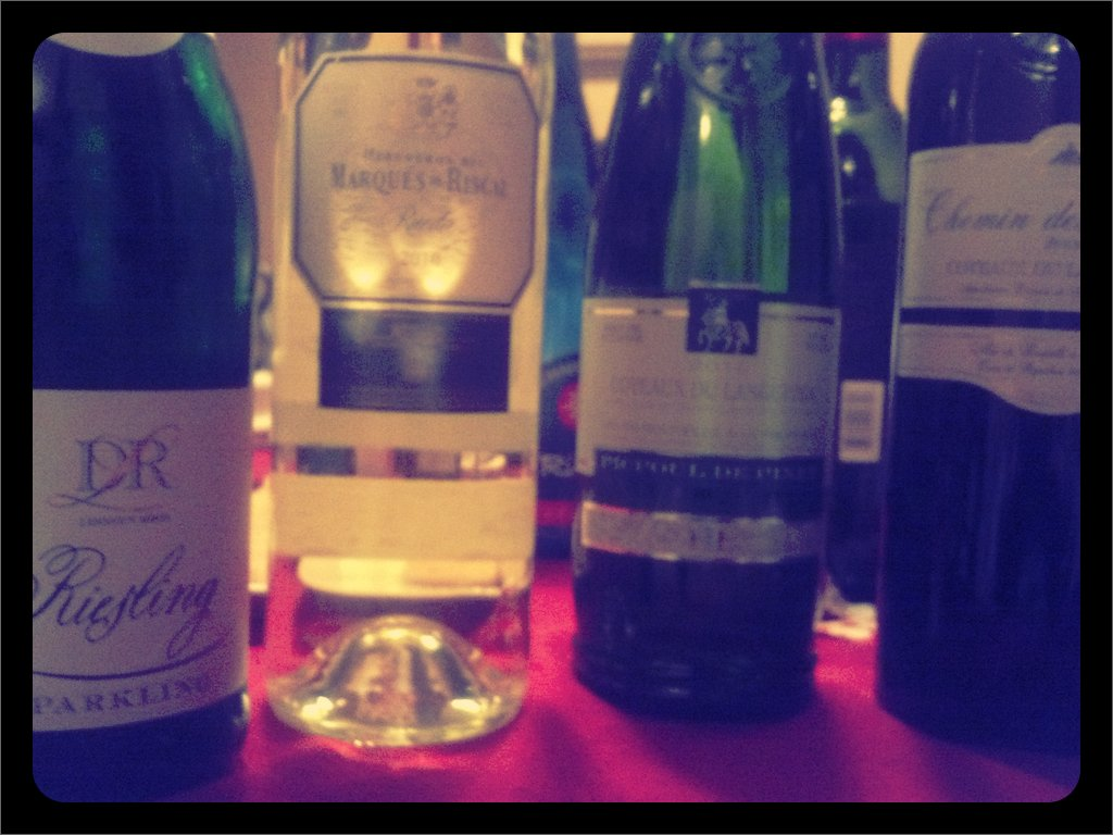 Tonight's lineup #nomoscato (Taken with  picplz .)