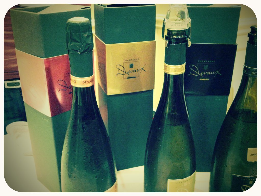 Champagne from Cotes de Bar (Taken with  picplz .)