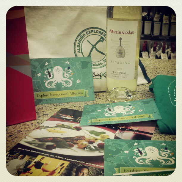 Seminar over, let the tasting begin!! @riasbaixas #albarino (Taken with  instagram )