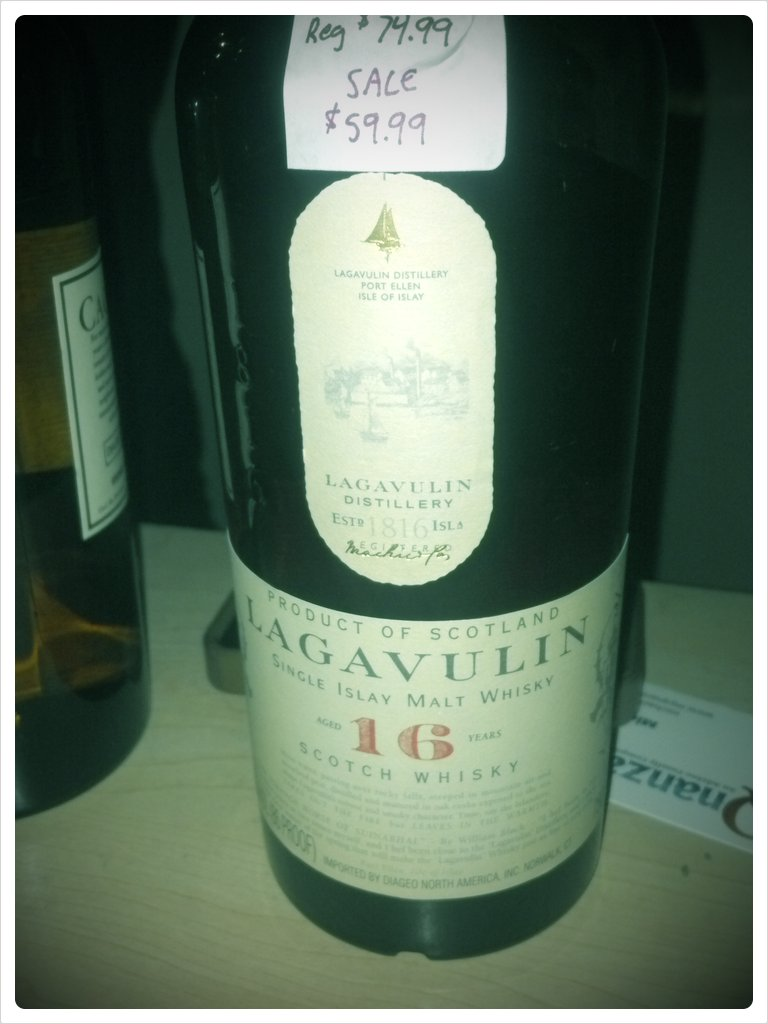 Smells like bacon #scotch (Taken with  picplz .)