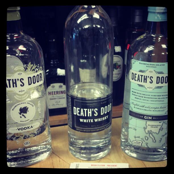 Death's Door Spirits from Wisconsin #happyhour (Taken with  Instagram )