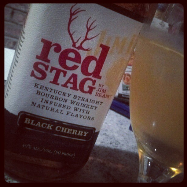 For National #Bourbon Day - Red Stag, lemon juice, simple syrup (Taken with  Instagram )