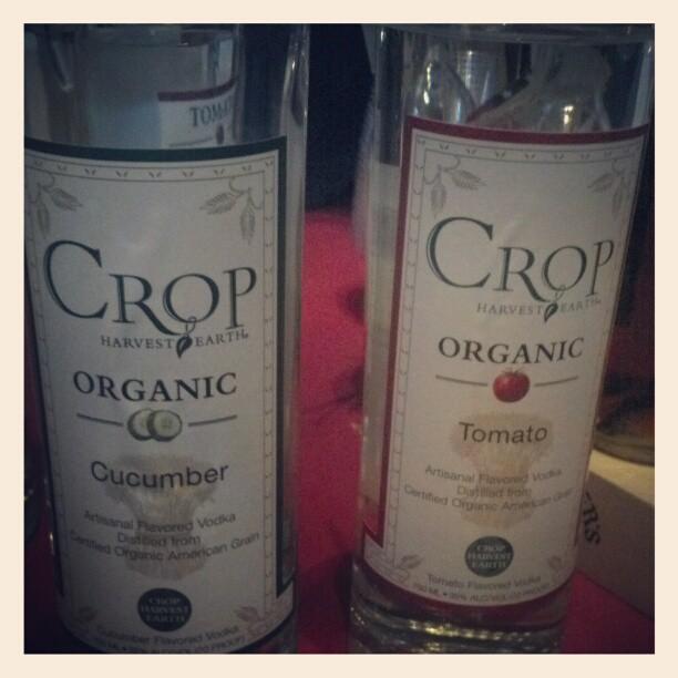 100% organic vodka Crop Harvest Earth #tott (Taken with  Instagram )