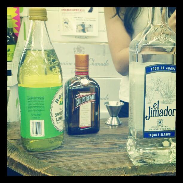 On the tasting table #margaritas (Taken with  instagram )