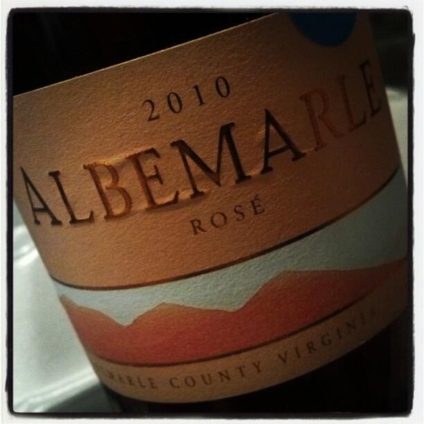 #ND Albermarle Rose from Kluge Estate Winery (Taken with  Instagram )