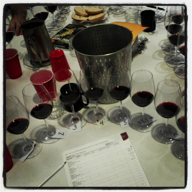 Red Blends #winejudging  (Taken with  Instagram )